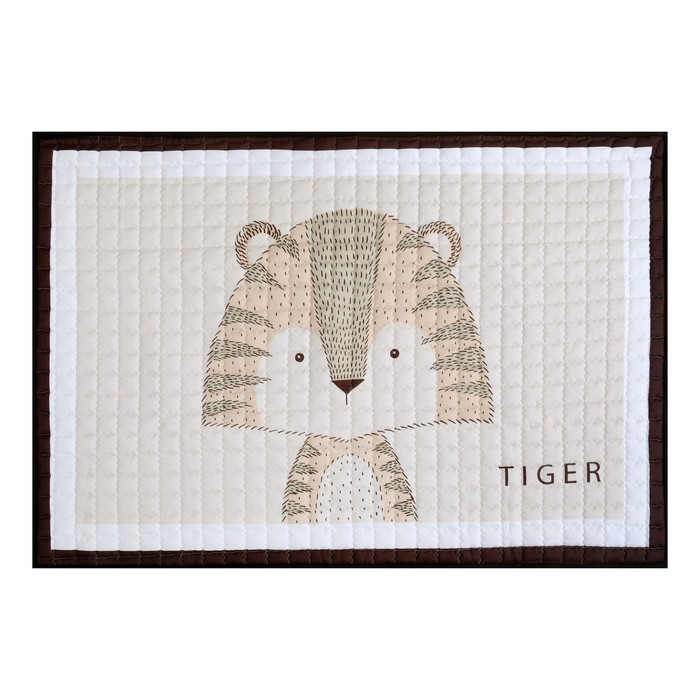 """Коврик детский Крошка Я """"Тигр"""" 100х150 см,100% п/э"""