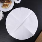 Пергамент для выпечки d=36 см Grifon, для круглых форм, 10 шт