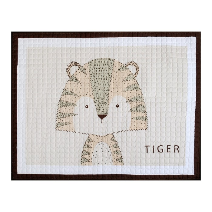 """Коврик детский Крошка Я """"Тигр"""" 145х195 см,100% п/э"""
