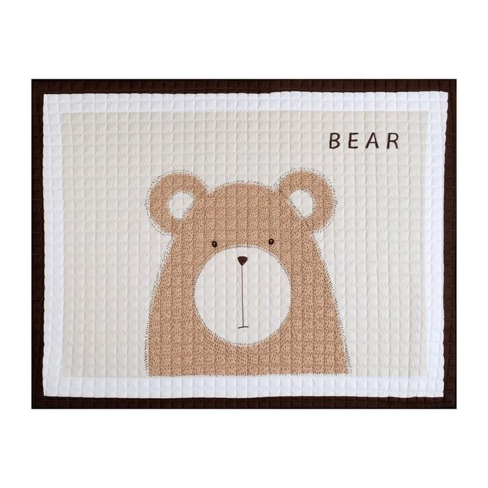 Коврик детский Крошка Я «Медвежонок», 145 × 195 см, п/э 100 %