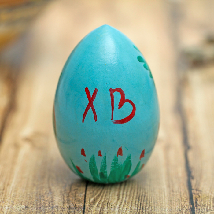 "Пасхальное яйцо ""Курица"" 7 см"