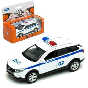 Коллекционная модель Lada Vesta SW Cross «Полиция ДПС», масштаб 1:34-39