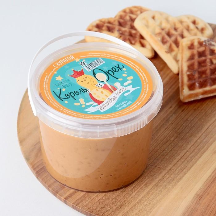 Арахисовая паста с мёдом и курагой, 510 г