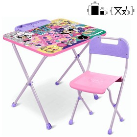 Набор детской мебели «Disney 1 Минни Маус»: стол, стул в наличии