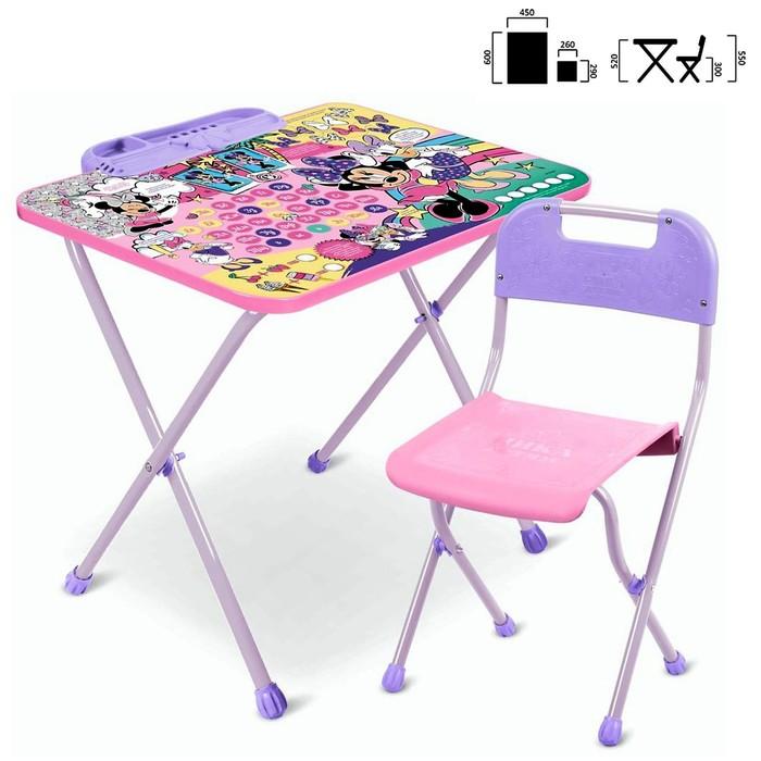 Набор детской мебели «Disney 1 Минни Маус»: стол, стул