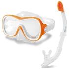 Набор для плавания WAVE RIDER, маска, трубка, от 8 лет, 55647 INTEX