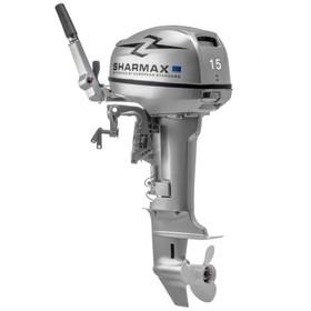 Двухтактный лодочный мотор Sharmax SM15HS