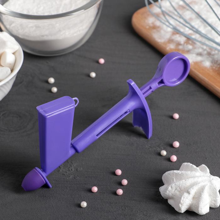 Инструмент украшения торта бусинами, d до 3 см