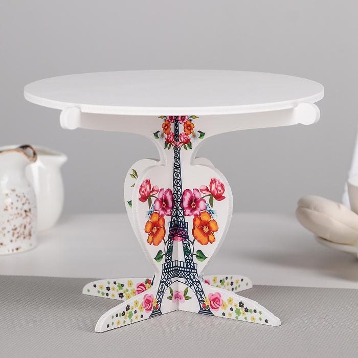 """Подставка для кондитерских изделий 23x15,5 см """"Париж"""""""