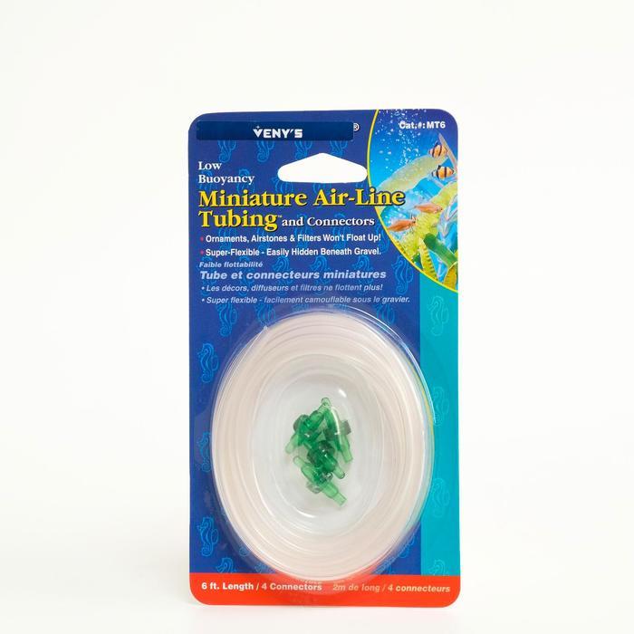 Шланг аквариумный улучшенный, 2 м, диаметр 6/4 см, с 4 зелёными соединителями
