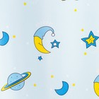 Портьера Крошка Я «Млечный путь» без держателя цвет голубой, 170×260 см, блэкаут, 100% п/э - фото 105554246