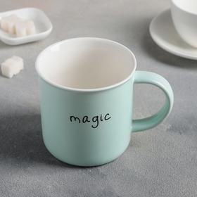 "Mug 380 ml of ""Magic"", MIX color"