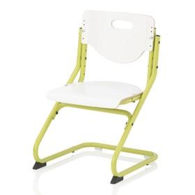 Стул ортопедический Chair Plus, 470х620х470, Белый/Зеленый