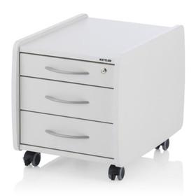 Тумба с 3-мя ящиками Logo Trio Box, 570х400х460, Белый