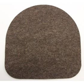 Подушка для стула Chair Plus, 340х340х10, Коричневый