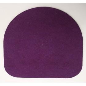 Подушка для стула Chair Plus, 340х340х10, Лиловый
