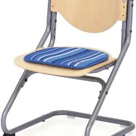 Подушка для стула Chair Plus, 340х340х10, Синие полос