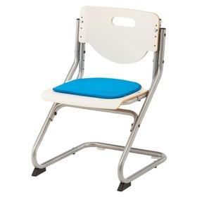 Подушка для стула Chair Plus, 340х340х10, Голубой