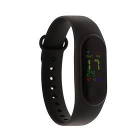 """Фитнес-браслет Smarterra Fitmaster Color, 0.96"""", IP67, цветной дисплей, пульсометр, чёрный"""