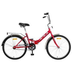 """Велосипед 24"""" Stels Pilot-710, Z010, цвет малиновый, размер 16"""""""