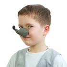 Карнавальный нос мыши, поролон, на резинке