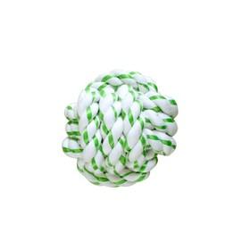 """Игрушка CanineClean """"Мячик из каната"""" для собак, с ароматом мяты, 8 см"""