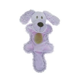 """Игрушка AROMADOG """"Собачка с хвостом"""" для собак, 25 см, сиреневая"""