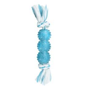 """Игрушка CanineClean """"Палочка"""" для собак,  синтетическая резина с канатом, с ароматом мяты, 25 см   4"""