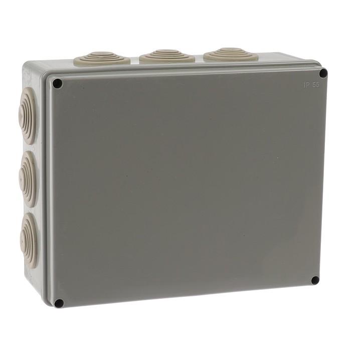 Коробка распределительная TUNDRA, 240х190х90 мм, IP55, для открытой установки