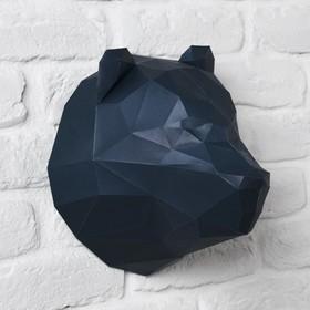 Набор для создания полигональной фигуры «Медведь», 32.5 × 44 см