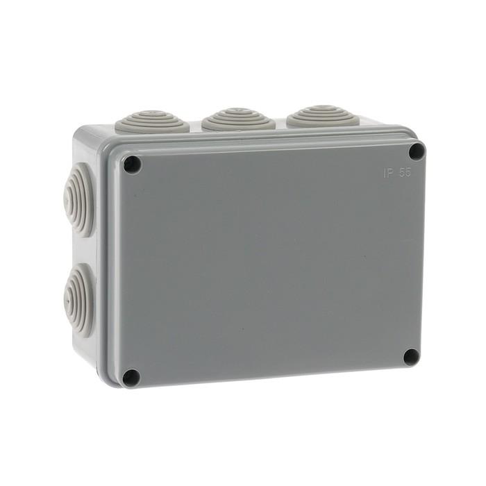 Коробка распределительная TUNDRA, 150х110х70 мм, IP54, для открытой установки