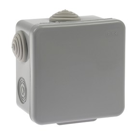Distribution box TUNDRA, 80x80x50 mm, IP54, for outdoor installation