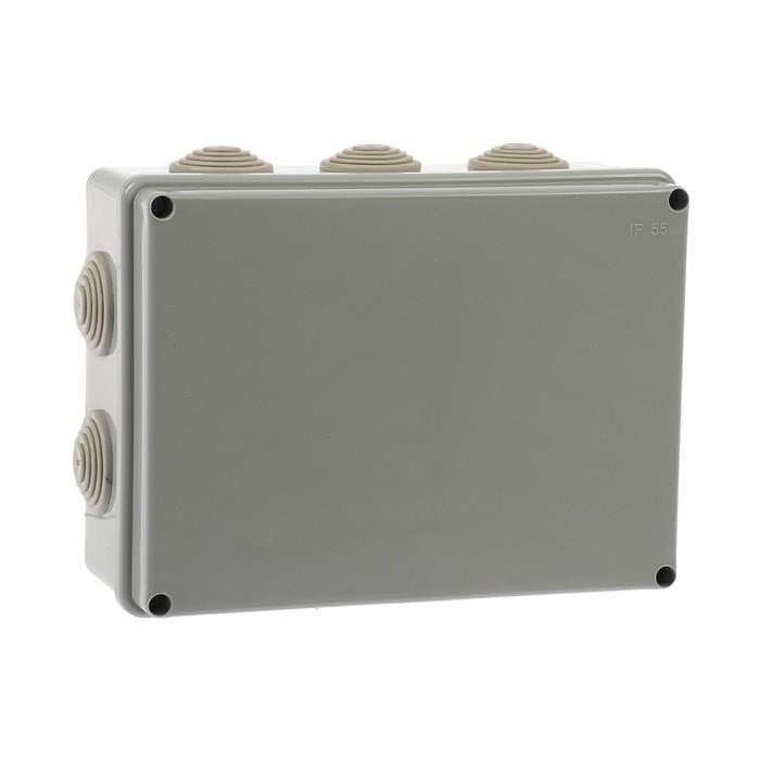 Коробка распределительная TUNDRA, 190х140х70 мм, IP55, для открытой установки
