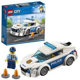 Конструктор «Город Автомобиль полицейского патруля»