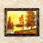 """Magnet """"Landscape"""" lacquer miniature, MIX"""