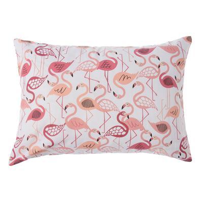 Pillowcase Ethel Flamingo, 50x70 ± 3 cm, 100% cotton, calico 125 g/m2