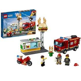 Конструктор «Город Пожарные: Пожар в бургер-кафе»