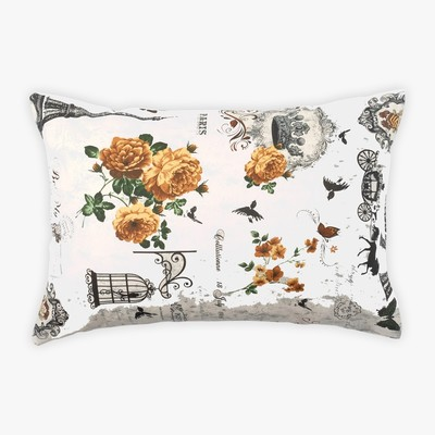 Pillowcase Ethel Paris season 50x70 ± 3 cm, 100% cotton, calico 125 g/m2