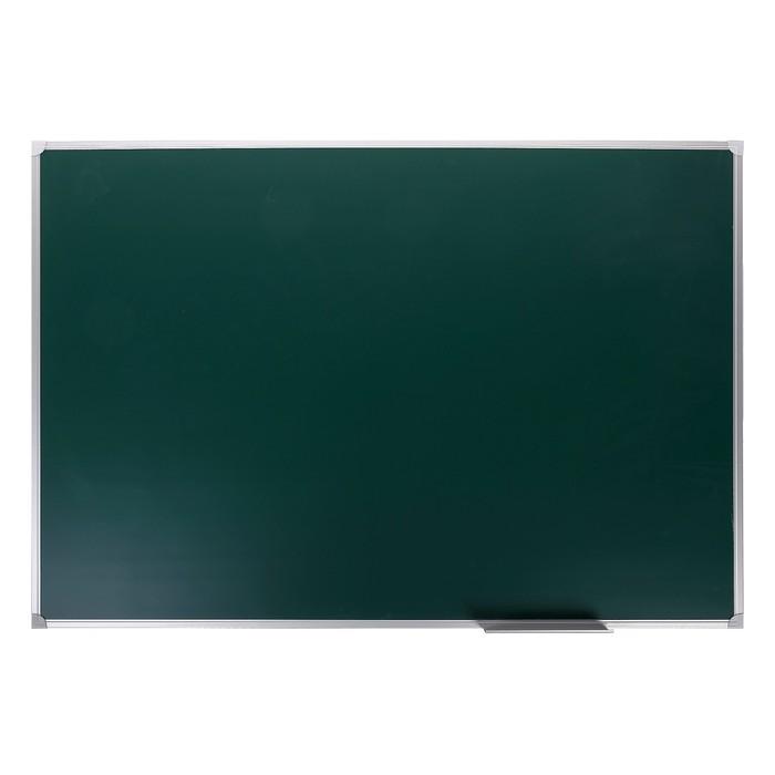 Доска магнитно-меловая, 45 х 60 см, зелёная, Calligrata REEF, в алюминиевой рамке - фото 551485646