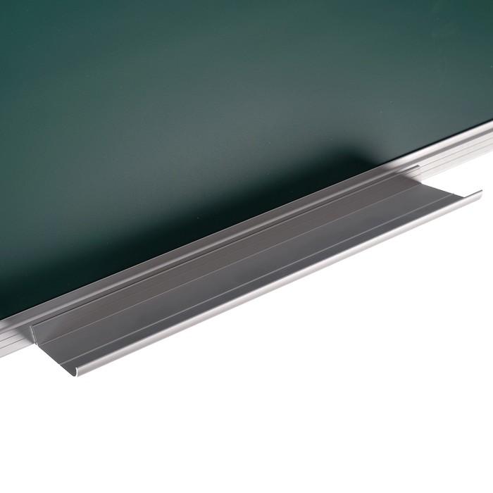 Доска магнитно-меловая, 45 х 60 см, зелёная, Calligrata REEF, в алюминиевой рамке - фото 551485647