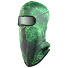 Balaklava (Balaclava), color green