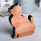 Деревянная интерьерная фигурка «Кошка», 13 × 10 см