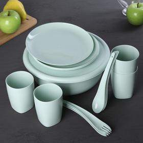Набор посуды Stockholm, на 4 персоны, 17 предметов