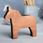 Деревянная интерьерная фигурка «Лошадка», 14 × 14 см