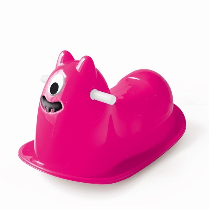 Качалка «Монстрик», цвет розовый