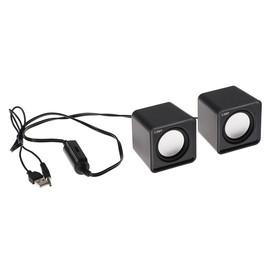 Computer speakers 2.0 CBR CMS 90 Black, 2x3 W, USB, black