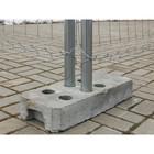 Основание для временных ограждений, бетонное, усиленное