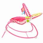 Шезлонг «Мышка», с погремушками, цвет розовый - фото 965147