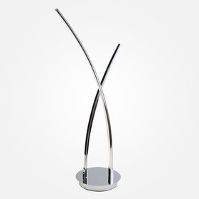Настольная лампа Hi-tech 11Вт LED хром