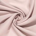 Штора портьерная «Этель» 270×300 см, блэкаут, цвет розовый металл, пл. 210 г/м², 100% п/э - фото 724053